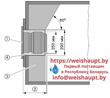 Контроль длины пламенной головы горелки Weishaupt